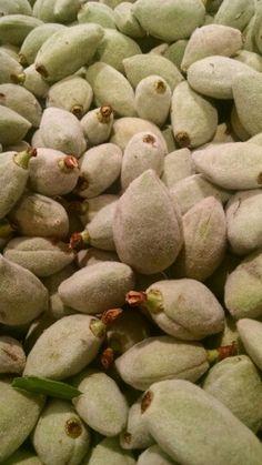 Green almond.