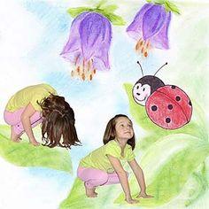 Gross Motor Skills, Yoga Art, Kundalini Yoga, Yoga For Kids, Asana, Relax, Activities, Children, Creative
