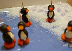 California Black Olive penguins