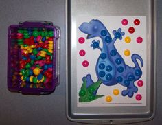 Dinosaur magnet sheets to use alsong with your Dinosaur preschool theme.