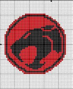 Geekie Crafts ThunderCats Cross Stitch
