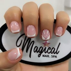Short Nail Manicure, Short Nails, Nail Polish Designs, Nail Designs, Precious Nails, Nail Spa, Fancy Nails, Mani Pedi, Nail Arts