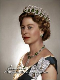 Princess Elizabeth of Great Britain, Queen Elizabeth II. © COPYRIGHT NOTICE All rights of my work are reserved to AlixofHesse/Justyna Michalska and may . Royal Crowns, Royal Tiaras, Reine Victoria, Queen Victoria, Princesa Diana, Royal Queen, King Queen, Queen Mary, English Royal Family