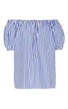 Short Sleeve Peasant Top by MDS Stripes for Preorder on Moda Operandi
