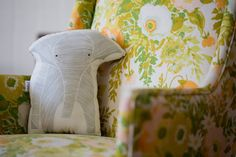 This unique throw pillow. | 32 Products Every Elephant Lover Needs In Their Home