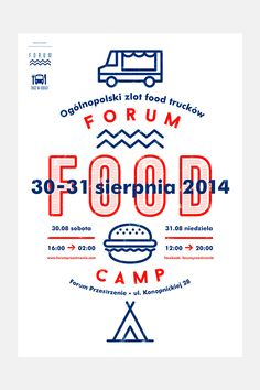 FORUM FOOD CAMP on Behance
