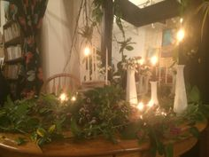 Our Imbolc altar
