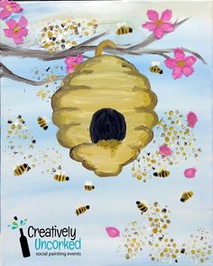 Beehive | Creatively Uncorked | Creatively Kids | http://creativelyuncorked.com