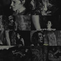 "#The100 4x07 ""Gimme Shelter"" - Octavia and Ilian"