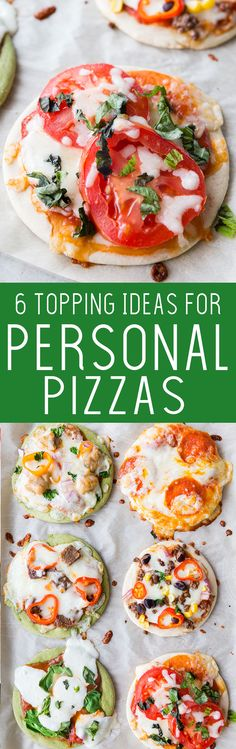 6 awesome topping ideas for personal pan pizzas, and an awesome machine to make them. This is the kitchen gadget you need! #ad