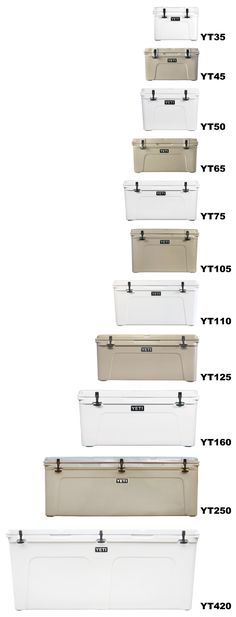Yeti Cooler Tundra Compare....Apparently, he NEEDS one of these! ;)