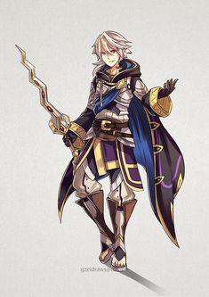 Corrin as Robin - Fire Emblem Fire Emblem Awakening, Fire Emblem Characters, Fantasy Characters, Fictional Characters, Fire Emblem Wallpaper, Manga Anime, Minions, Character Art, Character Design