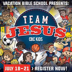 When: Monday, July 18th-Thursday, July 21st, 9am-12pm Who: Children that have just finished Kinder through 5th grade and Special Needs children Kinder and older are welcome to register. Cost: $10 per child Where: Community Bible Church Worship Center