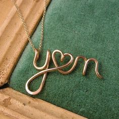 I Love This!   Two Lovers14K Custom Initials Necklace by Laladesignstudio on Etsy, $70.00