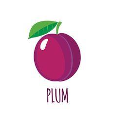 plum-icon-in-flat-style-on-white-background-vector-id518361242 (416×416) Flat Style, Fashion Flats, Plant Decor, Plum, Logo, Plants, Logos, Logo Type, Planters