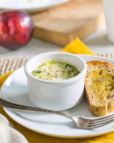 Our last recipe to share with you this year is a special little breakfast dish, made first for us by our dear friend Lindsay during a visit to Minnesota. She whipped up these baked eggs…