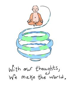 Buddhism and meaningful quotes by Buddha Tiny Buddha, Little Buddha, The Words, Buddah Doodles, Buddha Thoughts, Yoga For Kids, Positive Affirmations, Decir No, Religion