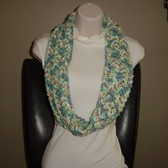 Infinity Scarf by Nanabearcrocheted on Etsy