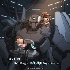 HJ-Story :: Love is... Future | Tapastic - image 1