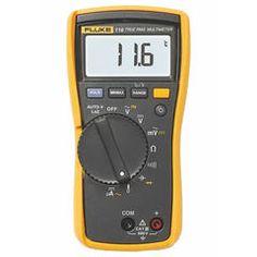Multímetro Digital HVAC True-RMS Fluke 116 com medição de temp. e mA