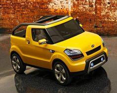 Kia Motors do Brasil  pode colocar em prática o Soul'ster, projeto conceito conversível do Soul #kia