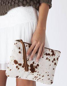 Bolsa shopper pele animal print | Khaki & Yellow | NOVO! | SHOP ONLINE SUITEBLANCO.COM