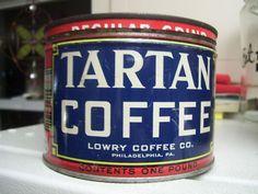 Tartan Coffee.