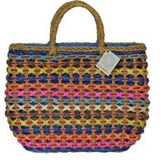 Simplesmente IN LOVE por esta Bolsa de Palha Multicolorida da lindamoliva.com.br !!! Fechando a praia em 3, 2 1 ... (Bolsa Mona - em palha artesanal - LMBA01). #bolsadepalha #lindamoliva #bolsa #acessório #praia #temqueter #euquero #inlove #bolsalovers #cores #bolsacolorida #colorida #primavera #verão #bolsadepraia #handbags #bags