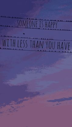 Prints are 20% off! iPhone 5 background || someone is happy with less than you have