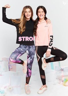 Flex-worthy activewear with fab details & fun colors.