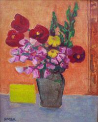 """Norberto Berdía """"Flores"""" Óleo sobre tela 50 X 40 cms. http://www.portondesanpedro.com"""