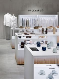 Nendo has designed retail concessions for its wide range of products created exclusively for department stores in Japan
