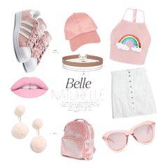 """Pink day"" by sofiewilliam on Polyvore featuring Armitage Avenue, Karen Walker, adidas Originals, Madewell, Miss Selfridge, BaubleBar and Boohoo"