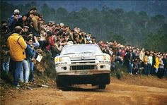 Rally Portugal 1985 Timo Salonen. peugeot 205 t16