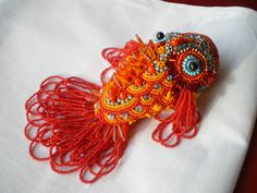 This is way cool and would be worth the time investment Threads Across the Web: beads