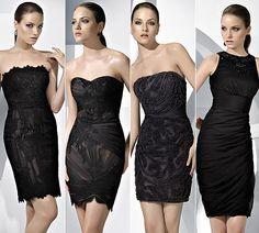 Vestidos de fiesta color negro 2012  http://vestidoparafiesta.com/vestidos-de-fiesta-color-negro-2012/
