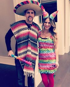 aac6b0117e5 56 Creative Homemade Group Costume Ideas. Mexican Fancy ...