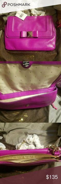 Kate Spade New York Terrace Justine Bow Crossbody Brand new no signs of wear kate spade Bags Shoulder Bags