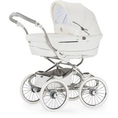 Bebecar Prive Luxury Stylo Class Combination Pram (Snowflake)