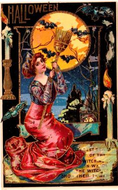 Vintage Halloween Print