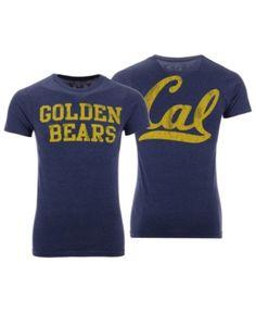 5ebd7b34744 Retro Brand Men s California Golden Bears Team Stacked Dual Blend T-Shirt -  Blue L