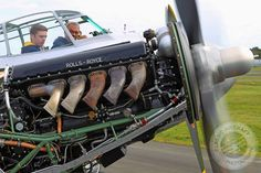 Took this during an engine run of Mosquito TV959