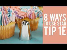 8 Ways to Decorate Cupcakes Using Tip 1E | Wilton