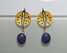 Ohrringe_Ringe_Edelstein_Schmuck _Hand gemacht von SILBERSTEINSONNE Drop Earrings, Fashion Outfits, Clothes For Women, Etsy, Jewelry, Hand Made, Gold Stud Earrings, Gems Jewelry, Rhinestones