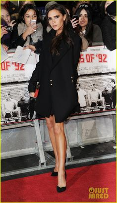 Victoria Beckham 'Class of 92' Premiere!  