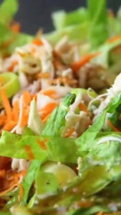 Low Calorie Chicken Recipes, Chicken Breast Recipes Healthy, Healthy Salad Recipes, Low Calorie Low Fat Recipes, Healthy Chicken Recipes For Weight Loss Clean Eating, Healthy Weight, Low Calorie Salad, No Calorie Foods, Chicken Nutrition Facts