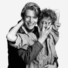 avid Bowie & Susan Sarandon, by David Bailey. Susan Sarandon, David Bailey Photography, The Nobodies, Ziggy Played Guitar, David Bowie Ziggy, The Thin White Duke, Major Tom, Girls Magazine, Ziggy Stardust