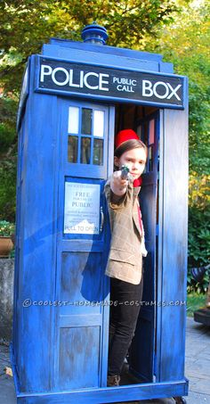 Coolest Homemade Doctor Who and TARDIS Costume… Coolest Halloween Costume Contest