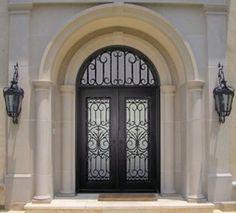 beautiful iron door