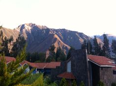 What a view to wake up to Aranwa sacred valley